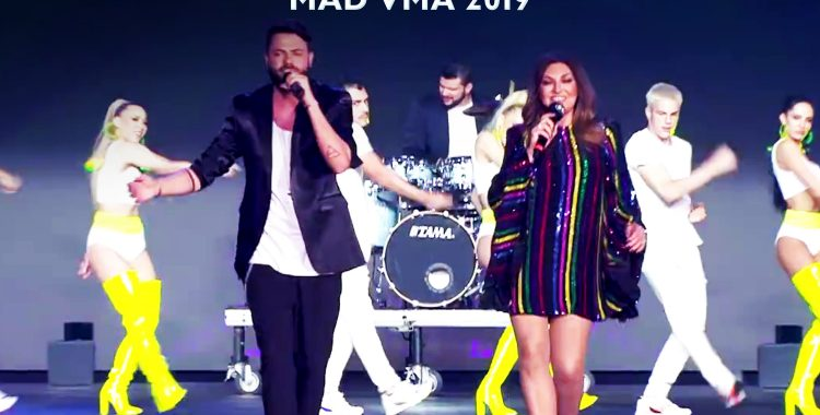 Kαίτη Γαρμπή & Alcatrash – Θα Μελαγχολήσω (MAD VMA 2019)